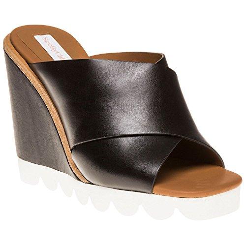see-by-chloe-wedge-mule-femme-sandales-noir