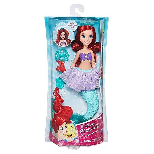 Hasbro- Princess Bubble Tiara Ariel + Rapunzel Juguete, (B5302)