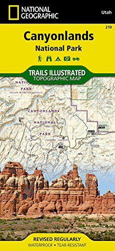 Canyonlands National Park, Utah: Outdoor Recreation Map (National Geographic Maps: Trails Illustrated) por National Geographic Maps