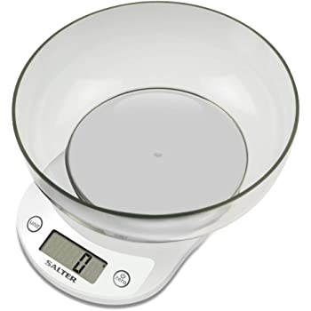 Salter Measuring Jug Electronic Digital Kitchen Scale Chrome Black//Clear 24.9x10.9x24.8 cm