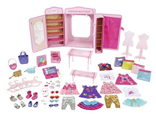 Zapf Baby Born Boutique Fashion Shop Doll Shop - Accesorios para muñecas (Tienda de Moda para muñecas, 3 año(s), Rosa, Child, Chica, 43 cm)