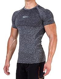 Smilodox Herren Seamless T-Shirt Glaze