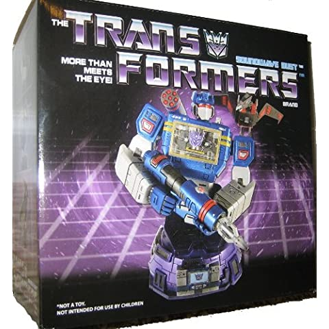 Transformers Diamond Select Soundwave Mini-Bust [Limited of 1000] by Diamond Select