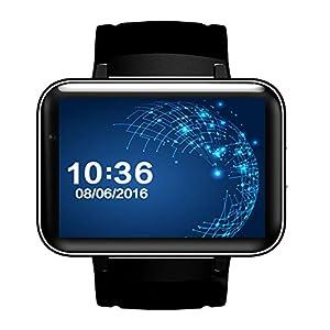 "OOLIFENG Bluetooth Reloj Inteligente DM98 Pantalla 2.2"" Sistema operativo Android 4.4 con WiFi GPS para Android Teléfono Inteligente 6"