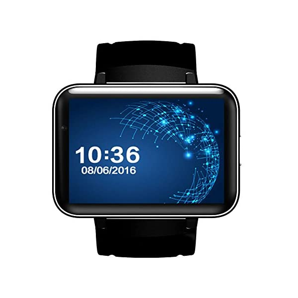 "OOLIFENG Bluetooth Reloj Inteligente DM98 Pantalla 2.2"" Sistema operativo Android 4.4 con WiFi GPS para Android Teléfono Inteligente 1"