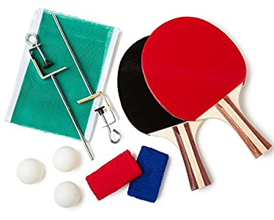 Dining Table Ping Pong Set - cheap UK light shop.