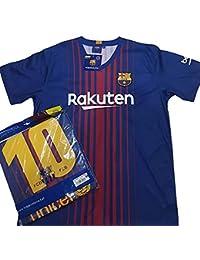 c7bac2ccd1 Camiseta 1ª Equipación Replica Oficial FC BARCELONA 2017-2018 Dorsal MESSI  - Tallaje ...