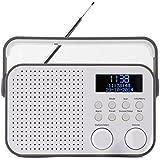 Akai ADB20GY Radio portable Gris, Blanc