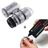 StillCool Tragbare Diamant Test Diamantprüfer Diamant Prüfgerät Tester Tragbare Diamant Selector II Edelstein Tester Werkzeug + 45X Beleuchtete LED Lupe (test + Loupe)
