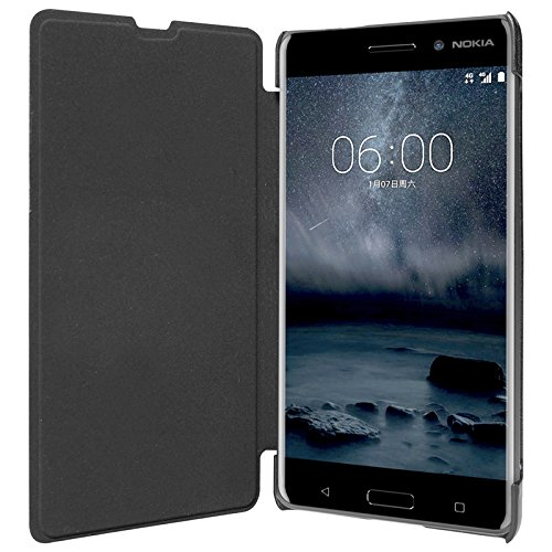 ECellStreet Flip Case Diary Folio Flap Case Cover For Microsoft Lumia 535 - Black  available at amazon for Rs.195