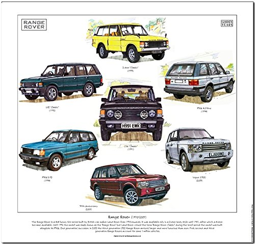 Range Rover 1970-2007Stampa--- Covers Classic Range Rover,