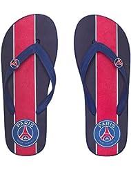 Tongs claquettes PSG - Collection officielle PARIS SAINT GERMAIN - Taille adulte homme