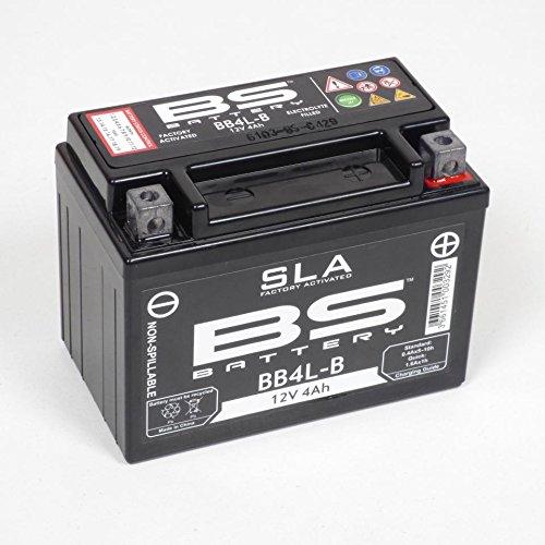 Batterie YB4L-B 12V 4Ah sans entretien BS Batterie moto Derbi 50 Senda Neuf