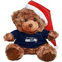 FOCO Seattle Seahawks Bär mit Nikolausmütze