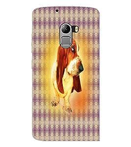 PrintDhaba Cute Dog D-4362 Back Case Cover for LENOVO VIBE X3 LITE (Multi-Coloured)