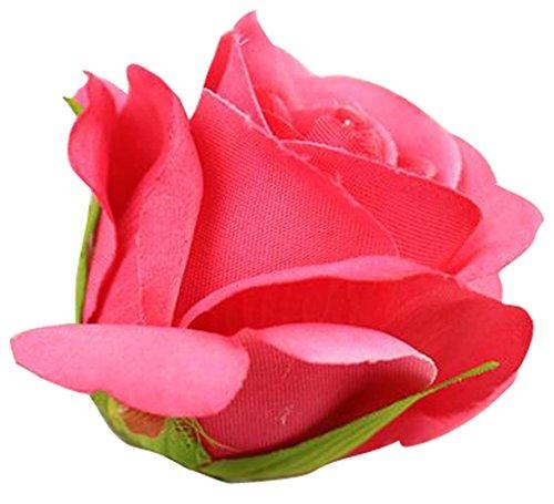 accessoire-pour-mariage-bridegroom-fleurs-artificielles-a-cheveux-broche-clip-rose-red-taille-unique