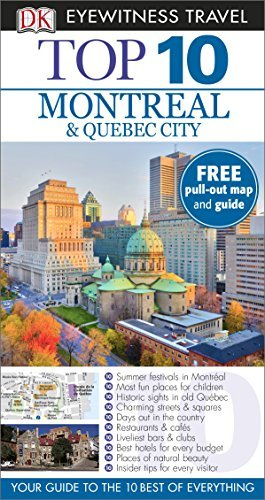 DK Eyewitness Top 10 Travel Guide: Montreal & Quebec City by DK Publishing (2014-03-03)