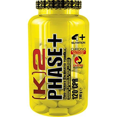 K2 PHASE Creatina 4 Plus Nutrition 120 Cpr - 51XfloVYYrL
