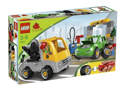 LEGO - 5641 - DUPLOVille - Jeu de construction - Transport - Le garage
