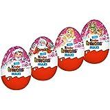 Kinder Überraschung Maxi Weihnachten Mädchen, 4er Pack (4 x 100g)
