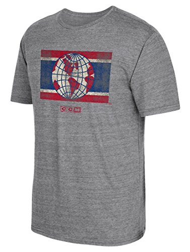Montreal Canadiens CCM Heritage Alternate Distressed Premium Tri-Blend T-Shirt - Distressed Tri-blend T-shirt