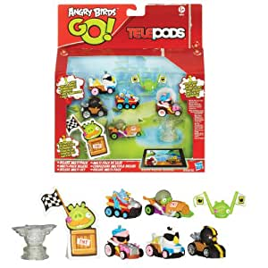 angry birds go telepods deluxe multi pack spielzeug. Black Bedroom Furniture Sets. Home Design Ideas