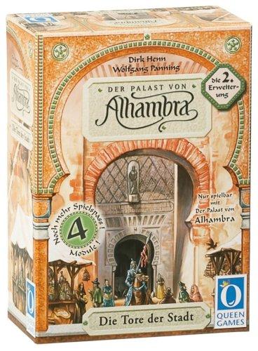 Preisvergleich Produktbild Queen Games 6031 - Der Palast von Alhambra - 2. Erweiterung: Die Tore der Stadt