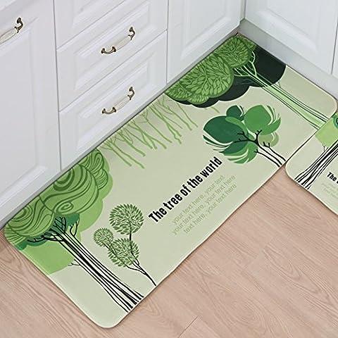 Einfachheit stil teppich boden matte badezimmer matte küche teppiche-E 50x80cm(20x31inch)