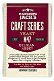 Obergärige Bierhefe Belgian Abbey M47 - Mangrove Jacks Craft Series - 10 g Trockenhefe