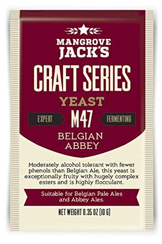 Obergärige Bierhefe Belgian Abbey M47 - Mangrove Jack\'s Craft Series - 10 g Trockenhefe