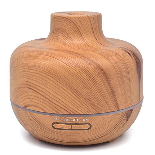 ZDFGH Aromatherapie Wesentlich ?l Diffusor Luftbefeuchter Duft?ldiffusoren Elektrisch Cool Nebel zum B¨¹ro/Zuhause/Schlafzimmer/Babyzimmer 7 Farbe LED Beleuchtung, 400 mL, 1