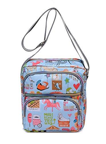 Ms. Messenger Bag/Oxford stoffa/Mezza età femminile del sacchetto/pacchetto tempo libero/pacchetto diagonale Ms.-E E