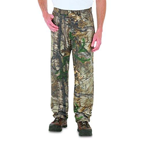 Wrangler Men's Progear 5-Pocket Realtree Ap Camo Jeans Camouflage 38W x 30L - Wrangler Jeans Men Tall