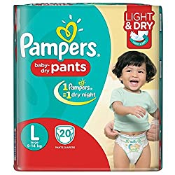 Pampers Baby Pants Active Size L, 20N