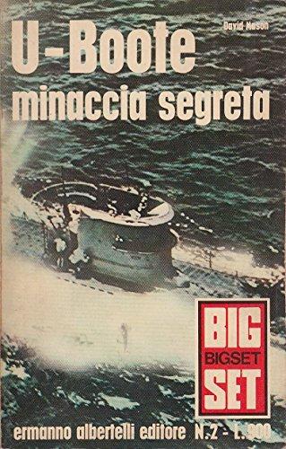 L- BIGSET N.2 U-BOOTE MINACCIA SEGRETA - MASON- ALBERTELLI --- 1970 - B - ZCS414