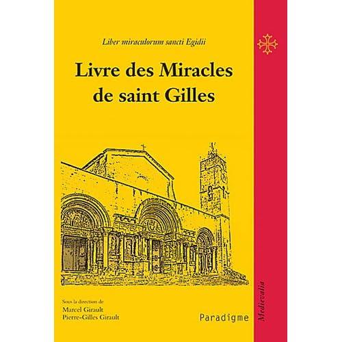 Livre des miracles de saint Gilles
