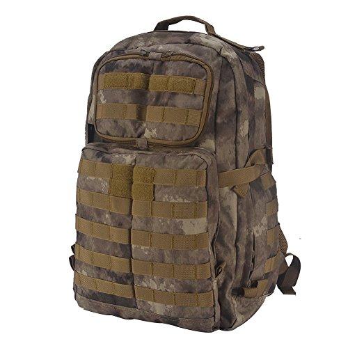 YAKEDA® Wasserdicht Multifunktions-militärische taktische Tasche Camping Wandern Trekking Bag - BK-5033 (Gobi Tarnung) Gobi Tarnung
