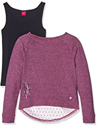 s.Oliver Sweatshirt Langarm, Sweat-Shirt Fille