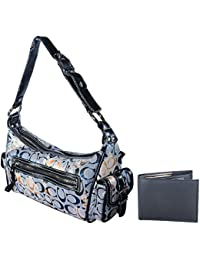 Holboro Special Couple Combo Single Strap Shoulder Handbag For Women & Men's Wallet + Free 7 Pcs Twin Blade Disposable...
