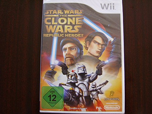 Preisvergleich Produktbild Star Wars - The Clone Wars: Republic Heroes [Software Pyramide]