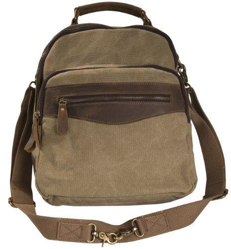 laurex-womens-convertible-canvas-backpack-w-leather-trim-3612-khaki-by-laurex