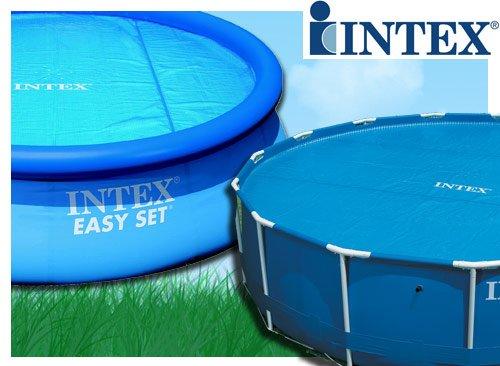 Pool Wärmefolie / Luftpolsterfolie / Solarfolie für Swimming Pool und Whirlpool - 305 cm Intex 59952 -