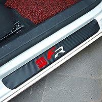 LGNB 4 St/ücke Auto Einstiegsleisten F/ür Mazda 6 2014 2015 2017 2020 Edelstahl,Red,Silver Trim Scuff Pedal Schwellenabdeckung Schutz Trim Zubeh/ör