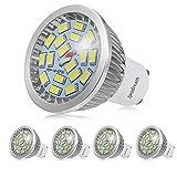 Ampoule LED GU10, 7W 550LM Spot LED, Équivalente 60W Ampoule Halogène, Blanc Froid...