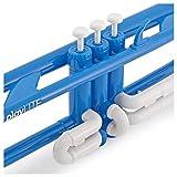 playLITE Trompette Hybride par Gear4music Bleu