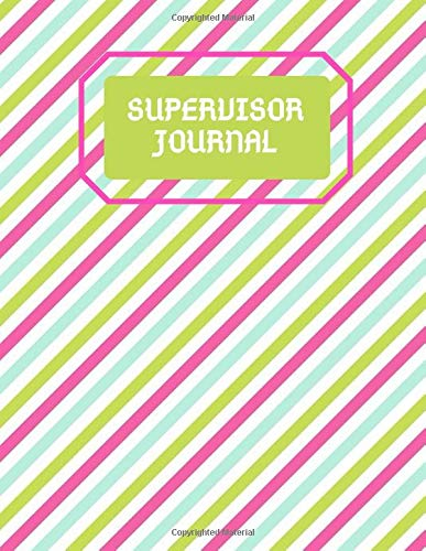 Supervisor Journal: Reference De...