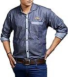 Impression Men's Cotton Casual Shirt(6_P...
