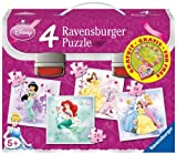 Ravensburger 07041 - Die Welt der Disney Prinzessinnen - 2x25 Teile / 2x36 Teile Puzzlekoffer
