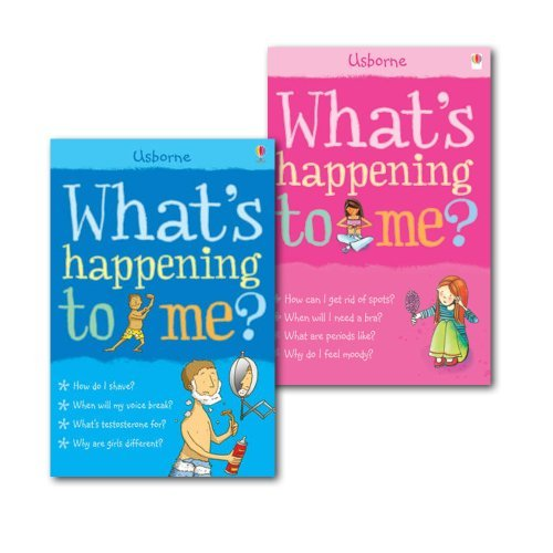 Collection of What's Happening to Me? (Facts of Life), (Girls Edition & Boy)