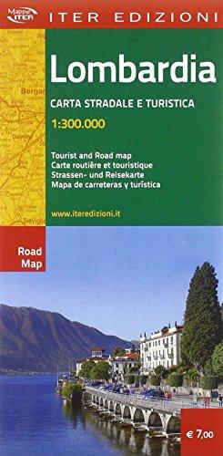 Lombardia. Carta turistica e automobilistica 1:300.000 (Mappe Iter) por AA.VV.